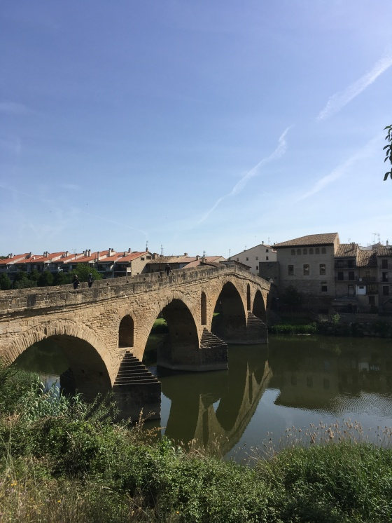 Brücke über den Arga in Puente la Reina